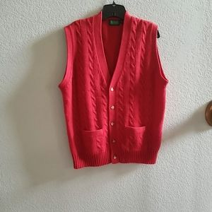 Byford Wool Buttoned Vest
